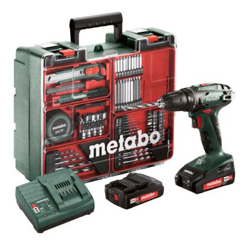 """Metabo BS 18 Set akkus fúró """"Mobil műhely"""""""
