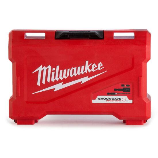 Milwaukee csavarozó szett 40 db Shockwave fúrók és bitek