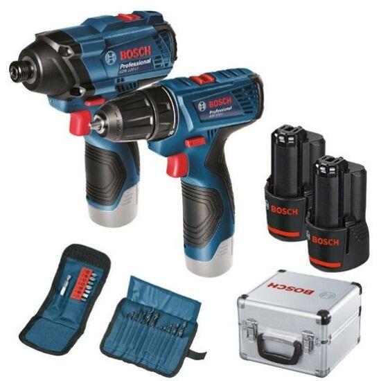 Bosch GDR 120Li+GSR 120Li fúró és ütvecsavarozó (06019F0003)
