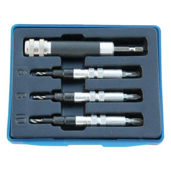 Z-Tools előfúró-csavarozó-sűllyesztő készlet PZ1; PZ2; PZ3 (PZ1234)